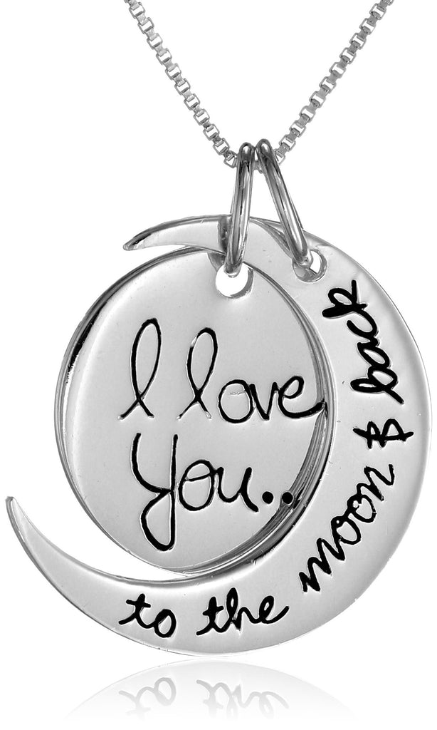 I love you to the moon and back necklace shop chainz i love you to the moon and back necklace aloadofball Image collections