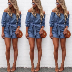 Women Jyye Denim Jumpsuit