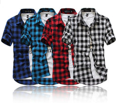 Mens Plaid Shirt