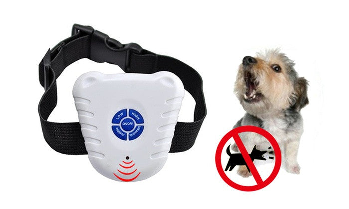 Ultrasonic Anti-Barking Dog Training Collar