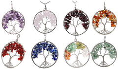 Inner Tree of Life Chakra Necklace