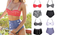 Ladies High Waisted Bikini