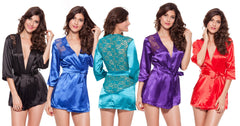 Ladies Kristen Satin Sleepwear