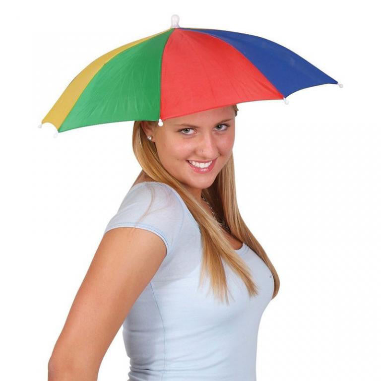 Portable Umbrella Hat