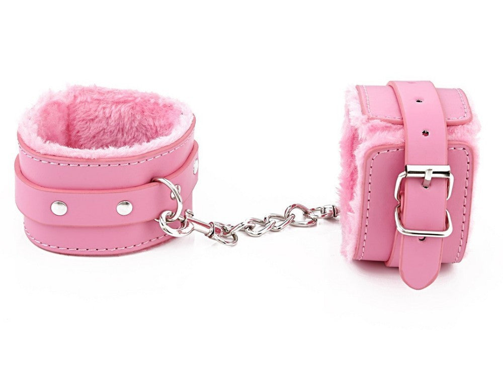 Soft PU Leather Handcuffs