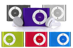 Portable MP3 Player available in 8 colours