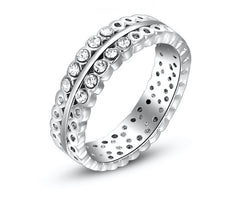 Platinum Plated Rings Collection
