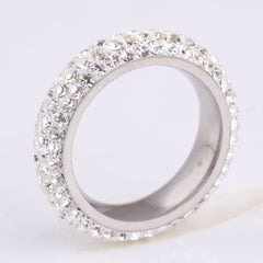 18k Silver Plated Refined Ring