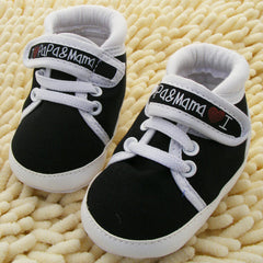 Unisex Baby Soft Sole Canvas Sneaker