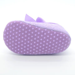 Baby Girls Soft Crib Shoes