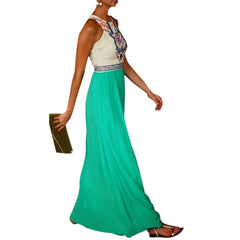 Ladies Madelyn Boho Maxi Dress
