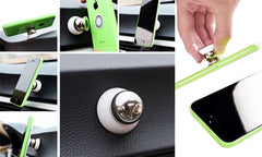 Universal Magnetic Smartphone In-Car Mount Holder
