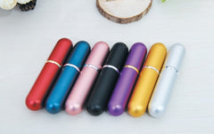 Portable Mini Refillable Perfume Atomizers - 7 Bottle Set