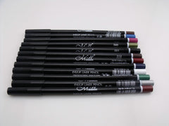Pack of 12 Color Cosmetics Eyeliner Pencils