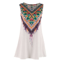 Ladies Aztec Summer Dress