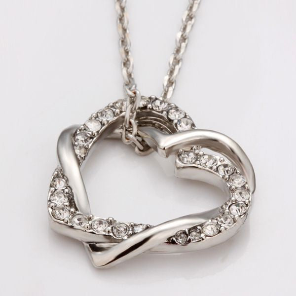 80% OFF - 18k White Gold Necklace