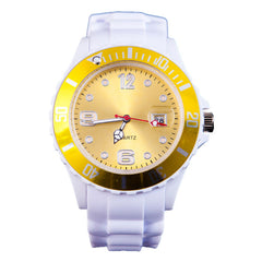 United White Luxury Watch - 13 Colours