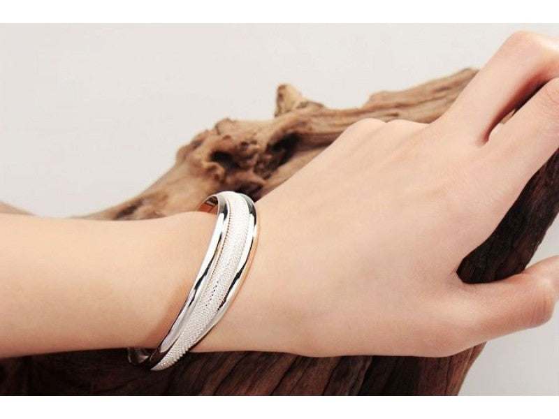 FREE - 925 Sterling Silver Bangle