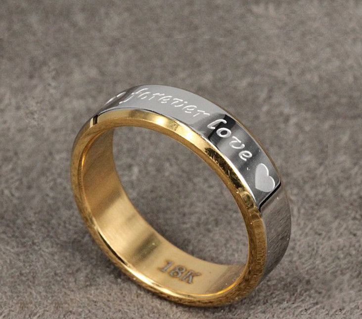 Men's 'Forever Love' Ring