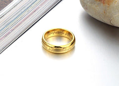 Men's Tungsten Gold 'Sauron' Ring