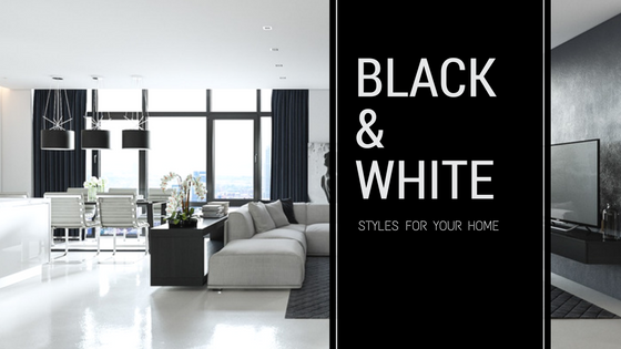 Stylish Ways to Include Black and White Designs in Your Home
