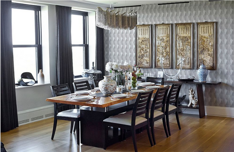 Designing an Asian Dining Room