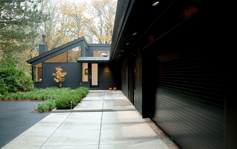 Homes with Black Exteriors