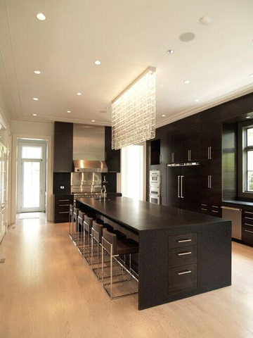 Black Kitchen Renovation
