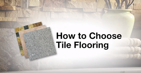 How to choose tile flooring