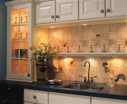 Accent lighting for a kitchen