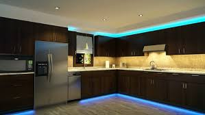 Ambience lighting in a kitchen
