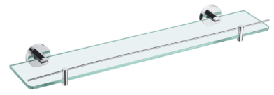 Bad und Kuche Bathroom Glass Shelf - BK407