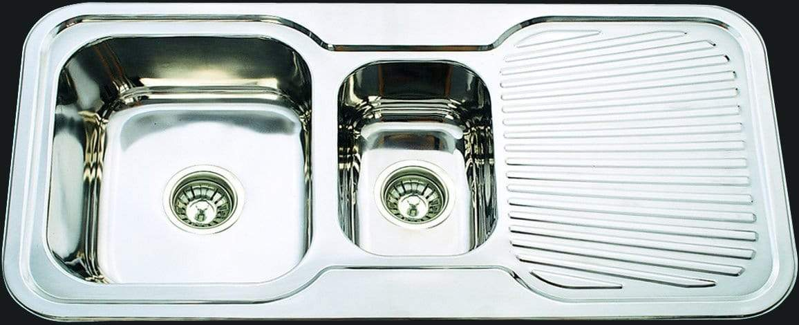 Bad und Kuche Kitchen Sink 1 + 1/2 Bowl  - LHB BK98
