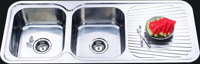 Bad und Kuche Kitchen Sink Double Bowl - LHB BK118
