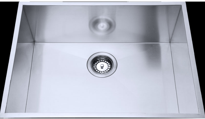 Bad und Kuche Square Single Bowl Undermount Sink - Cubic BKS40