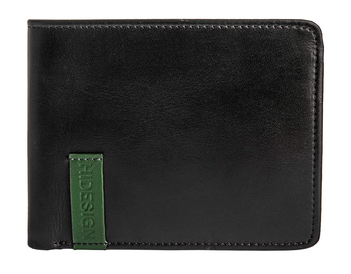 Hidesign Dylan Leather Trifold Wallet