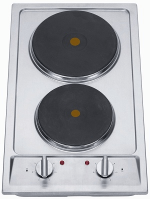 Midea 2 Burner Stainless Steel Electric Cooktop- EH302-2