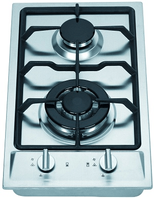 Midea 2 Burner Stainless Steel Gas Cooktop - BLGSW30