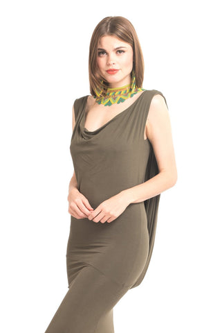 Bamboo Rajasthan Dress Jade