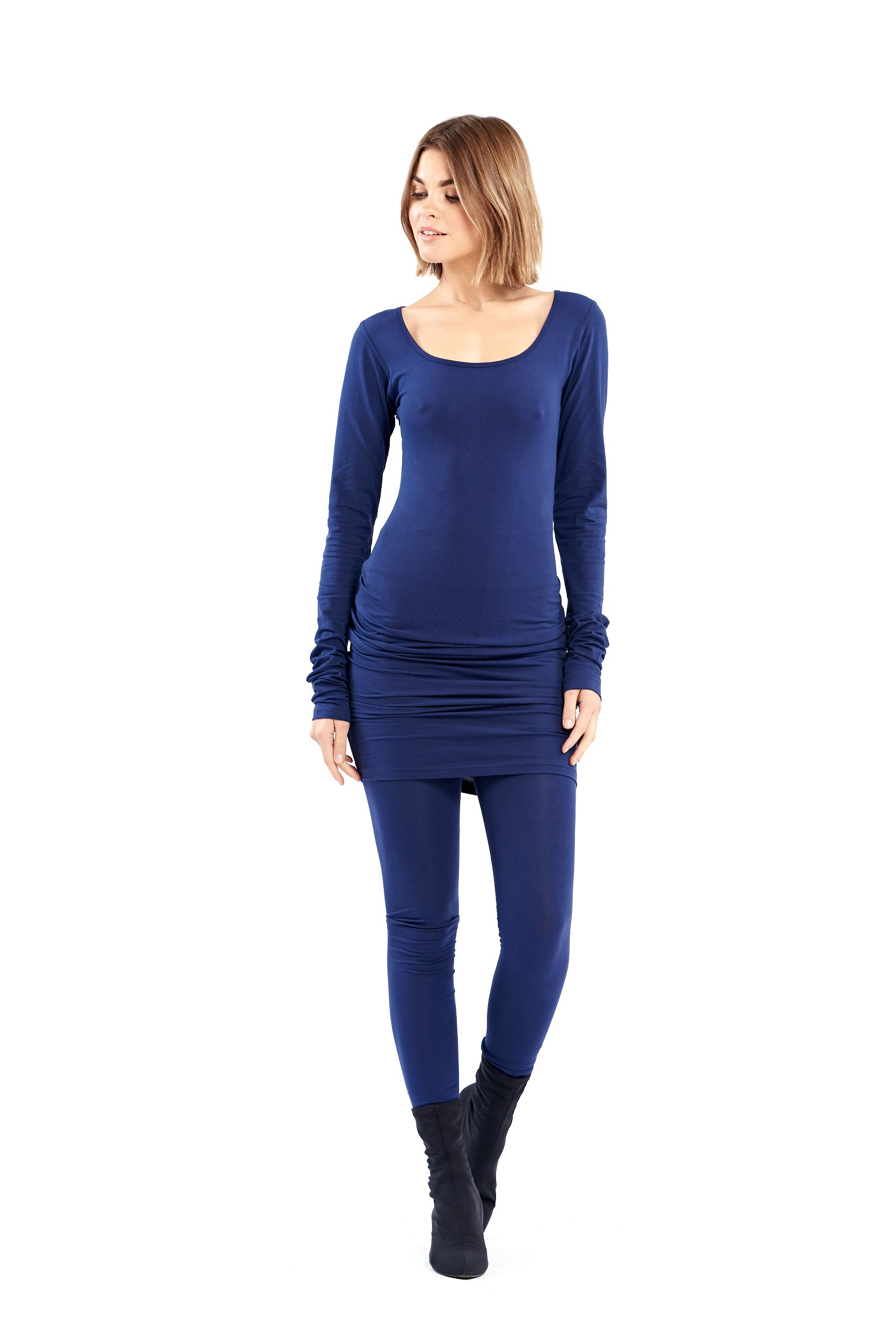 Organic Bamboo NYC Dress Navy