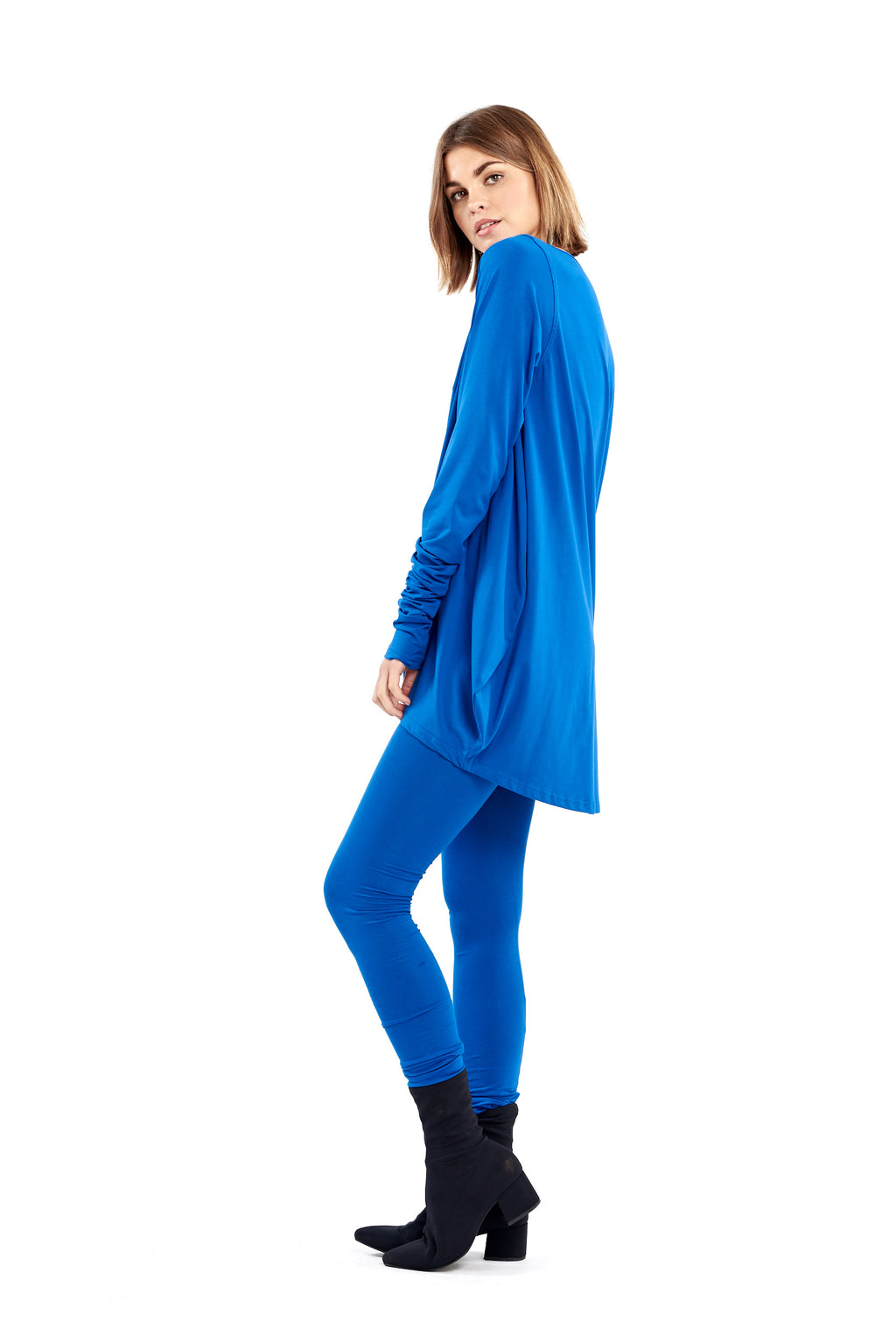 Organic Bamboo Dutch Top Royal Blue - MUDRA
