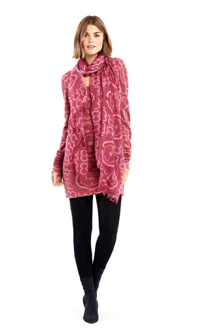 Cashmere Luxury Waterfall Jacket Pink