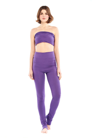 Organic Bamboo Soul Yoga Pants Purple