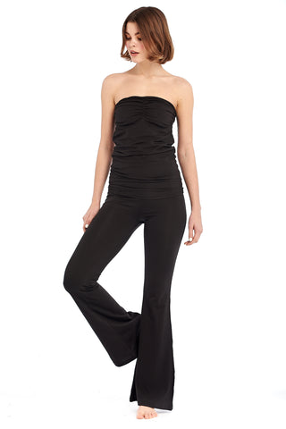 Organic Bamboo Baggy Jumpsuit Black