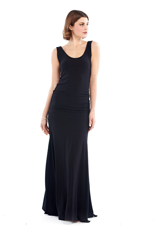 Bamboo Flamenco Dress Black