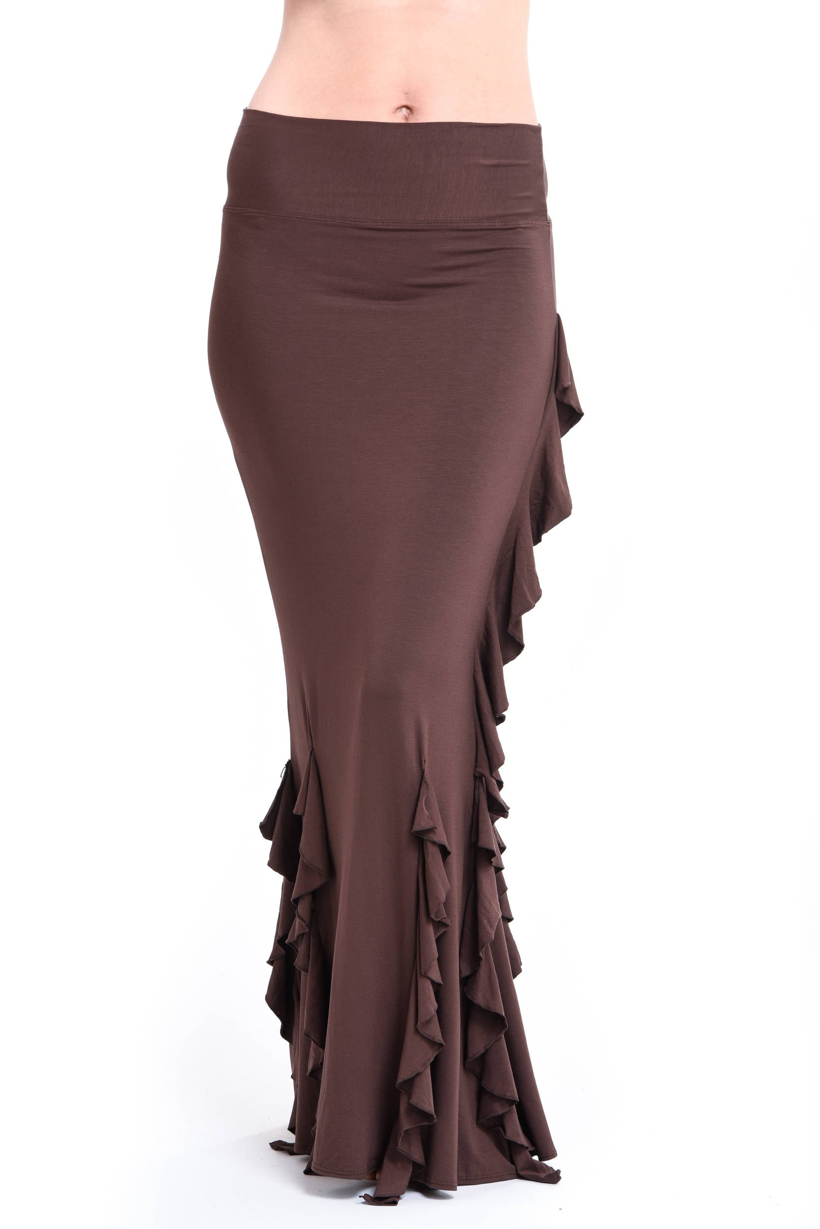 Bamboo Spanish Skirt Brown