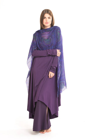 Bamboo Long Leggings Purple