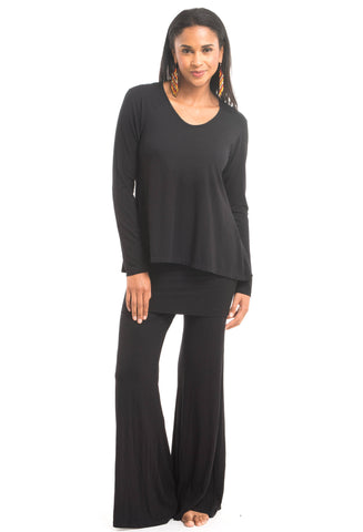 Cashmere Soul Yoga Pants Black