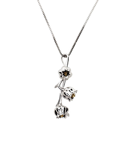 May Lily of the Valley Pendant