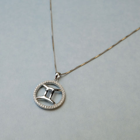 May Gemini Star Sign Necklace
